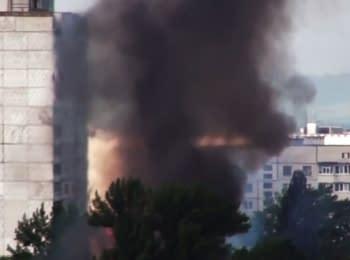 Пожежа у військовій частині в Харкові, 27.05.2015