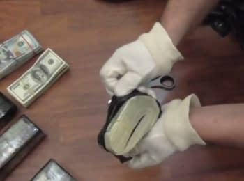 Пограничники совместно с СБУ обнаружили более 760 тысяч долларов США