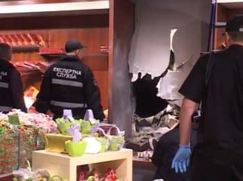 В магазине Roshen в Киеве произошел взрыв