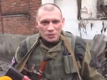 Російські найманці з Сибіру в Широкиному