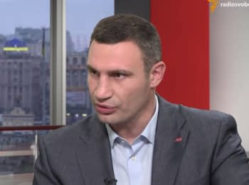Vitaliy Klitschko about a year of his work as the capital's mayor