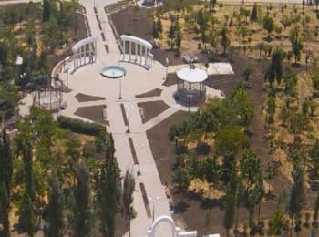 "Yuzhne, Odessa region, Ukraine. Park ""Primorsky"""