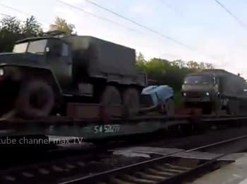 Echelon of military equipment in Rostov-on-Don, 01.06.15 (18+, obscene language)