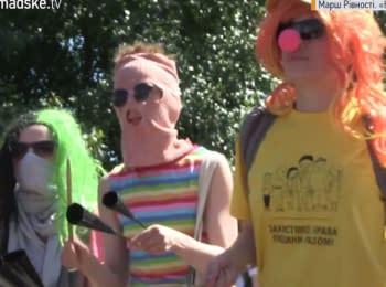 March of Equality in Kiev: secretly, fast, dangerous