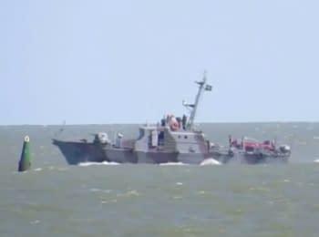 Киев обвинил сепаратистов в подрыве катера под Мариуполем