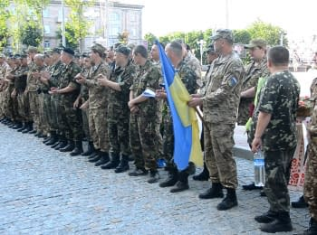 """Встреча демобилизованных бойцов батальона """"Черкассы"""""""