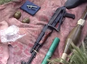 SBU detained arms dealers in the Zaporozhye region