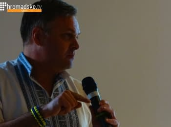 Vice Speaker of Georgian Parliament Giorgi Baramidze in Odessa