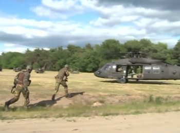 Training of the NATO Response Forces began in Poland