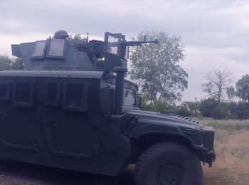 Затримання контрабанди в Станиці Луганській