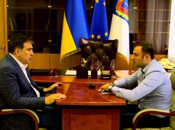 Зустріч губернатора з головою міліції Одеської області