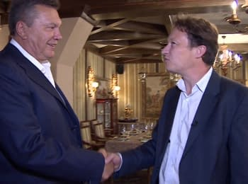 BBC Newsnight: Yanukovych meets Gabriel Gatehouse