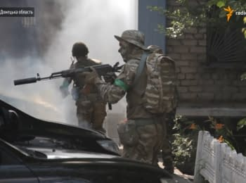 Оборона міськвідділу міліції: навчання у межах міста