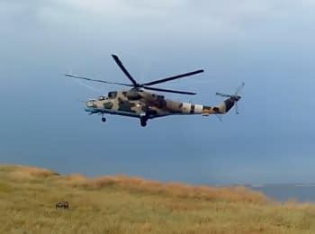 Испытания модернизированного вертолета Ми-24П