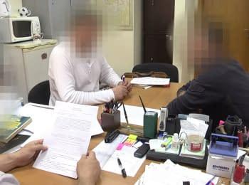"Detained former deputy commander of ""Berkut"""