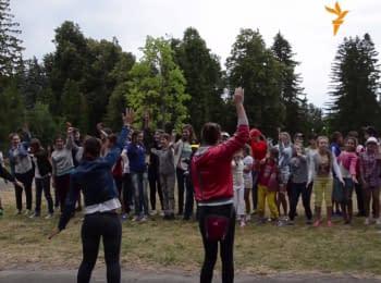 В Межигорской резиденции Януковича открыли детский лагерь