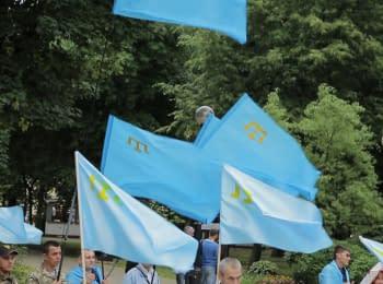 """""""Флаг - символ сопротивления оккупации"""" - Джемилев"""