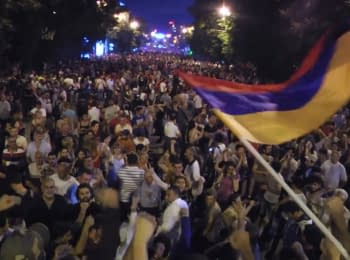 Confrontation continues in the capital of Armenia
