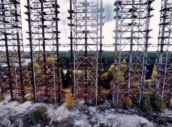 Chernobyl NPP after almost 30 years since the disaster. Part 2 (view from the air)