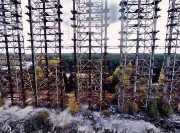 ЧАЕС через майже 30 років після катастрофи. Частина 2 (вид з повітря)
