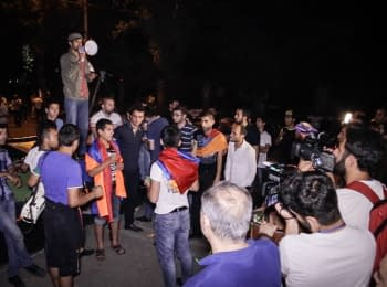 Yerevan: protest is united again