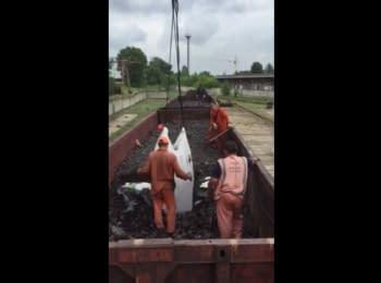 SBU detained 11 railway carriages smuggled food for terrorists