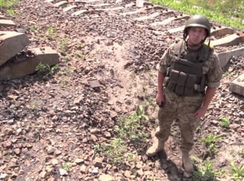 Near the occupied Gorlivka: deterring the enemy