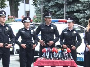 Interior Ministry presented samples of the uniform for the new patrol service