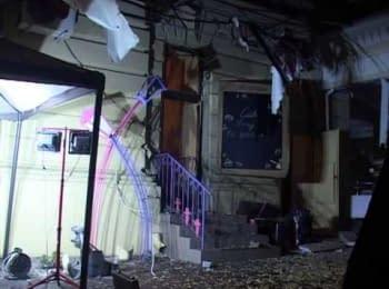 Одесская милиция выясняет обстоятельства взрыва в ресторане