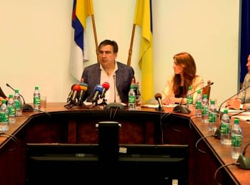 "Saakashvili at the anti-corruption committee: ""Dismiss because you did nothing at all..."""