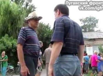 Radical Grisha conducts an explanatory work with residents of Trehizbenka, part 2 (18+, obscene language)