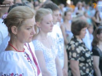 Першу річницю визволення Слов'янська в місті відзначили мітингом