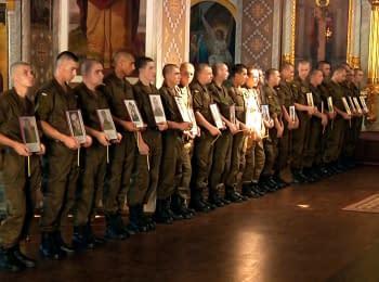 Почтение памяти погибших бойцов Национальной гвардии