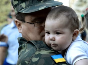 Черкасские бойцы вернулись домой из зоны АТО