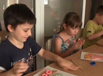 Дети из Луганска рассказали, как им живется в Житомире