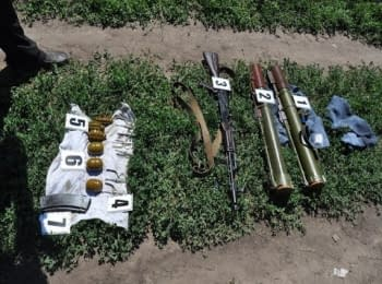 In Dnipropetrovsk region SBU detected a cache of ammunition and weapons
