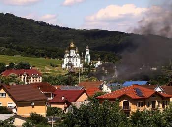 Shooting in Mukacheve, 11.07.2015