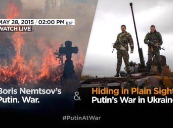"Atlantic Council's report presentation: ""Hiding in Plain Sight: Putin's war in Ukraine"""