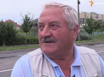 """""""Правый сектор"""" хотел привести """"порядок в городе"""", но здесь есть свой """"порядок"""" - житель Мукачево"""