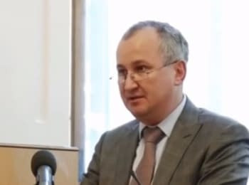 Statement by the head of the SBU Gritsak at a meeting in Mukacheve