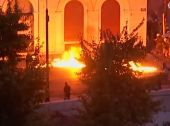 In Greece there have been clashes of protesters with the police