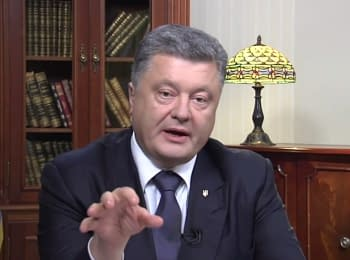 (English) President Poroshenko about a year after the MH17 crash