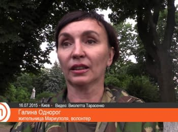 """Residents of Mariupol demonstrated the realities of a """"peaceful"""" city"""