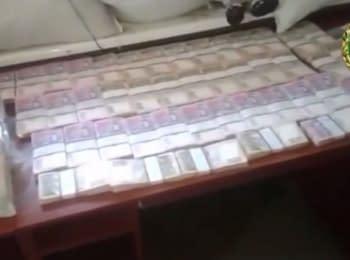 В Донецкой области были выявлены 8 млн грн, которые злоумышленники пытались передать террористам