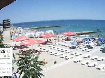"Black Sea, Odessa, ""Dolphin"" beach"