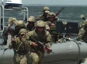 Tactical trainings of the Ukrainian Navy