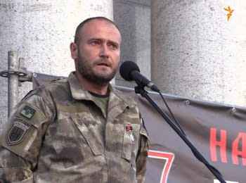 """Right Sector"" starts a new stage of the Ukrainian revolution - Yarosh"