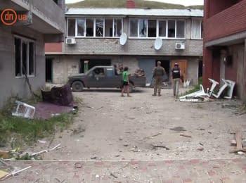 Обстановка в поселке Широкино