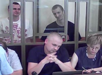 """Олег Сенцов: """"Я цей суд взагалі не вважаю за суд, можете розглядати що хочете"""""""