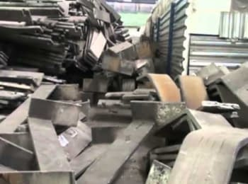 SBU seized part of a technological equipment, which was exported from Zaporozhye aluminum plant
